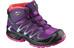 Salomon XA Pro 3D Mid CSWP - Calzado Niños - violeta